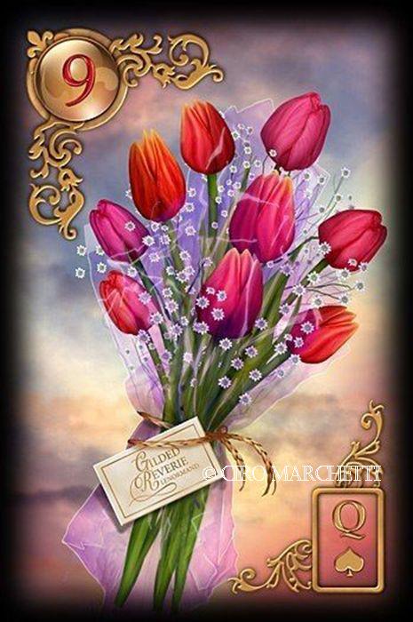9 Die Blume Lenormand